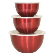 Covered Mixing Bowl