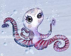 Pieuvre arctique © Poulili