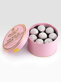Charbonnet Champagne Truffles :: These are amazing!