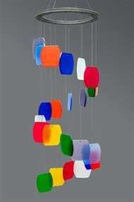 Rainbow Glass Wind Chime