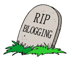 Is blogging dead? Have we come to the end of an era with mobile technology and the way people are consuming technology? See this quick video I posted with what I think is happening...