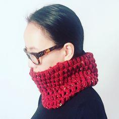 Handmade crochet cowl  #crochet #crocheting #cowl
