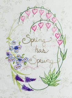 277-Spring Has Sprung-Crabapple Hill Studio