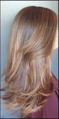 Rich, chestnut brunette is the perfect winterized shade for those with warm yet dark hair tones. This beautiful color was done by Jonathan and George colorist Katherine Hyde.