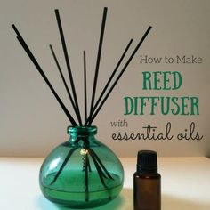 DIY Reed Diffuser {with Recipes for 11 Best Essential Oil Blends} One Essential Community - Essential Oil - Ideas of Essential Oil Homemade Reed Diffuser, Diy Essential Oil Diffuser, Diffuser Diy, Reed Diffuser Oil, Essential Oils For Pain, Essential Oil Blends, Diffuser Recipes, Diy Fragrance Diffuser, Perfume Hermes