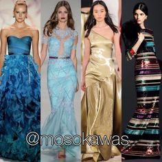 Mosokawas - Fashion Reviews Four Ladies Mosokawas Look: #longdressparty Photos: 1- @moniquelhuillier; 2- @samuelcirnansck; 3- @ralphlauren; 4- @dolcegabbana #mosokawas #lookdodia #lookoftheday #moda #estilo #style #insta #fashion #pinterest #ootd #outfit #outfitoftheday #instafashion #longdress #party #festa #vestidodefesta #ralphlauren #vestidolongo #dolcegabbana #samuelcirnansck #moniquelhuillier