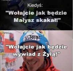 Zbiór memów o tematyce skoków narciarskich. Codzienne jeden nowy mem.… #losowo # Losowo # amreading # books # wattpad Funny Memes, Jokes, Ski Jumping, Skiing, Lol, Humor, Sports, Ski, Hs Sports