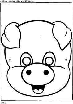 printable animal masks: elephant mask | aplikationen