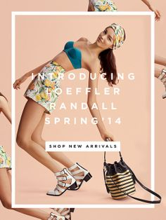 Shop New Arrivals For Spring at The Official Loeffler Randall Store | Email Design