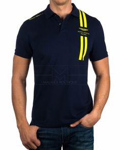 "The Polo Outfit has went through somewhat of a ""re-branding"" for a number of years. polos outfit for women Polo T Shirts, Cut Shirts, Boys Shirts, Polo Shirt Design, Polo Design, Camisa Polo, Polo Outfits For Women, Aston Martin, Online Shopping Clothes"