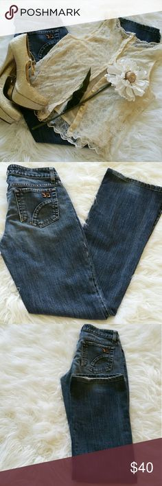 "SALE Joe's ""Honey"" Premium Denim Jeans Awesome Joe's ""Honey"" Premium Denim Jeans 32"" Inseam 8"" rise 99% Cotton 1% Elastane some distressing by cuff Joe's Jeans Jeans"