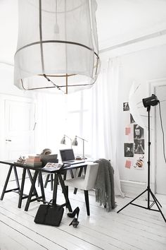 Black + White / Office Decor