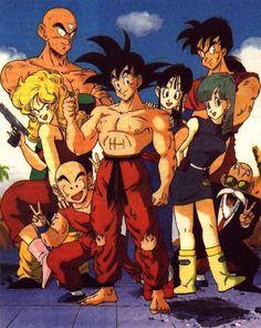 Dragon Ball Squad Goals.