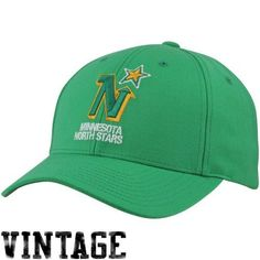 Dallas Stars Gear : Mitchell & Ness Minnesota North Stars Vintage Low Profile Coaches Adjustable Hat - Green by Mitchell & Ness. $25.95. Mitchell & Ness Minnesota North Stars Vintage Low Profile Coaches Adjustable Hat - GreenImportedAdjustable plastic snap strapStructured fitOfficially licensed NHL product100% WoolQuality embroidery100% WoolQuality embroideryStructured fitAdjustable plastic snap strapImportedOfficially licensed NHL product