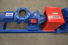 Screw Pump is useful for wet mud drilling waste management and cuttings transportation. http://www.xakx.com/portfolio/screw-pump/