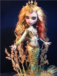 Custom Monster High Dolls Makeovers and Repaints ABBY