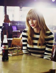 What me and Taylor Swift have in common: We both drink coke!