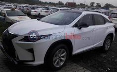 #Lexus RX 450 Hybrid spotted in India for the first time.