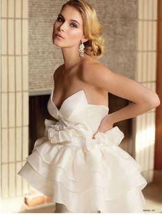 Elizabeth Stuart 'Gillyflower' Dress- Brides UK January 2013 #elizabethstuart