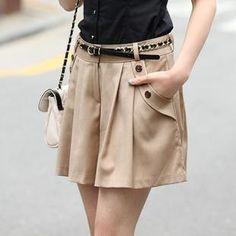 2015 New Fashion Free Shipping Summer Women's Casual Shorts Plus Size Culottes Skirts Womens Ladies Shorts Women Saias Femininas