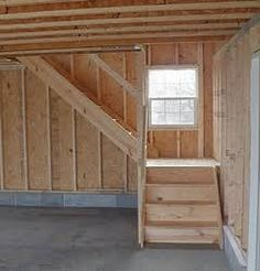 Image result for how to build a staircase to attic