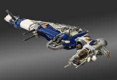 Redesigning Star Wars' Coolest Vehicles (Using LEGO) B-Wing