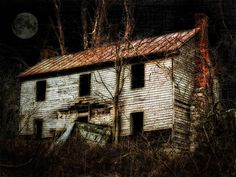 Haunted House On The Hill Photograph  - Haunted House On The Hill Fine Art Print