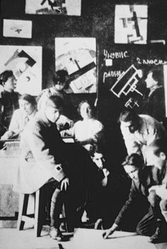 Kazimir Malevich studio