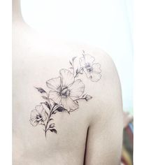 516ea4c08 26 Best Tattoo images in 2018   Rose of sharon, Florals, Flowers