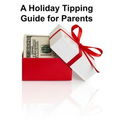It's that time of year again to show your appreciation to all the people who help you do it all parenting wise. Here's how much to give.
