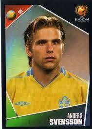 Anders Svensson of Sweden. Fifa, Korea, European Championships, World Cup, Sweden, Portugal, Japan, Baseball Cards, Country
