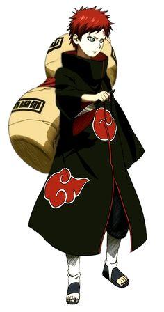 Gaara as a member of Akatsuki Naruto Shippuden Sasuke, Anime Naruto, Boruto, Sharingan Kakashi, Anime Echii, Kakashi Sensei, Naruto Sasuke Sakura, Akatsuki, Super Anime