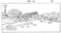 Google patent details augmented reality overlay for sat nav http://www.engadget.com/2013/04/23/google-patent-virtual-reality-gps-navigation/?utm_medium=feed_source=Feed_Classic_campaign=Engadget