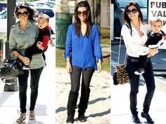 Say what you will about the Kardashians, I think Kourtney's style is amazing.