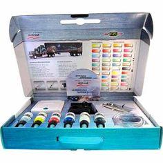Airbrush startsæt m/kompressor