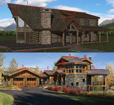 Architectural Complexity Log Homes Blog