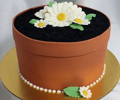 FlowerPot_Cake | Flickr - Photo Sharing!