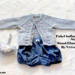 Anne-May Jakke -oppskrift Knitting For Kids, Baby Knitting, Crochet Pattern, Knit Crochet, Baby Barn, Dere, Little People, Shawl, Baby Kids