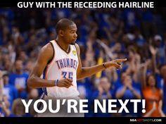 a35868983cc7e4f1a69e452b55032b55 basketball memes nba finals game kevin durant memes okc thunder 6 kevin durant memes pinterest,Oklahoma City Thunder Memes
