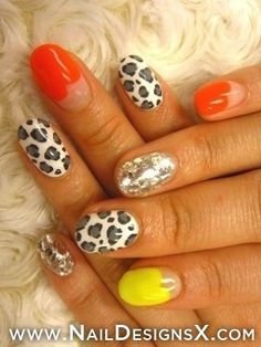cute 007 nail art