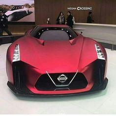 Nissan matte red