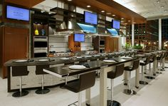 Demonstration Kitchen Design Restaurants Pinterest Kitchens