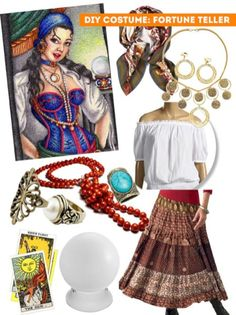 65 Awesome Fortune Teller Costume Ideas For Halloween 064