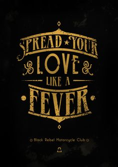 BRMC - Spread your love!