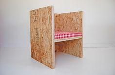 ROLU / cube chair osb