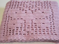 Flutterby with a beautiful Butterfly Filet Crochet Lightweight Baby by AfghansForBabies, $55.00