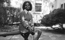 Condolezza Rice as an undergrate student at the University of Denver.  In 1974, at age 19, Rice was inducted into the honor society Phi Beta Kappa, and was awarded a B.A., cum laude, in political science by the University of Denver. She obtained a master's degree in political science from the University of Notre Dame in 1975.