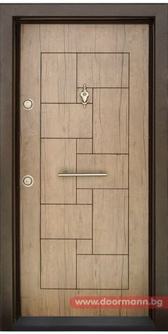 Six Panel Interior Doors House Main Door Design, Flush Door Design, Wooden Front Door Design, Room Door Design, Door Design Interior, Wooden Front Doors, Door Gate Design, Modern Wooden Doors, Modern Door
