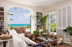 Coral House is a fully staffed 5 bedroom beachfront villa in Providenciales, Turks and Caicos.