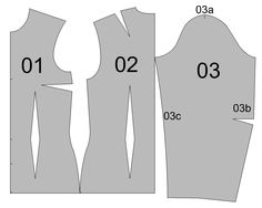 blouse, bust dart to side seam http://strihy-na-obleceni.blogspot.cz/
